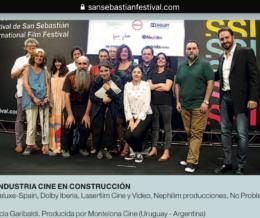 PREMIO 2018 de Cine en Construcción